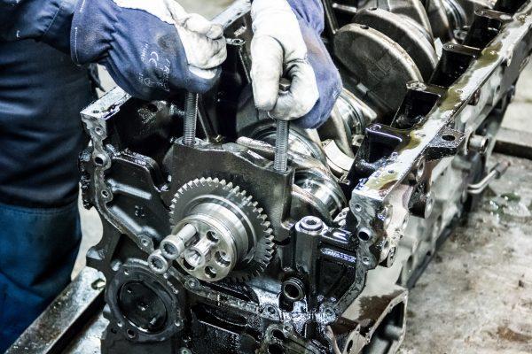 moottorikoneistus, vaihtomoottorit